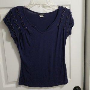 Venus navy shirt